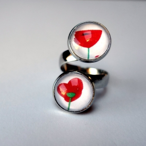 Double ring Poppies