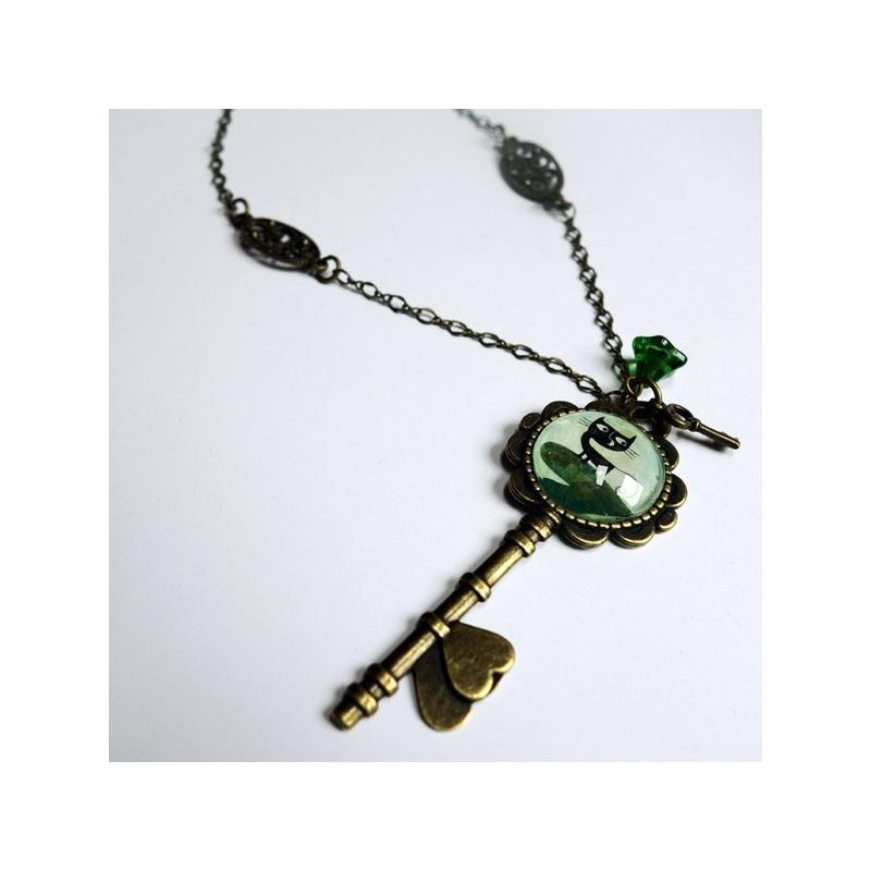 Collier clé Malo