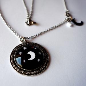 Collier vintage Sous la lune