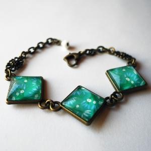 Bracelet Cerisiers bleus
