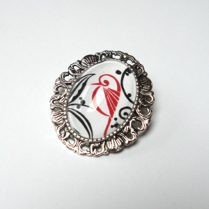 Cameo Red bird