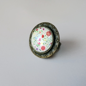 Round ring Bouquet of flowers