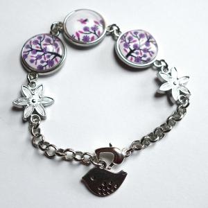 Bracelet Violet tree