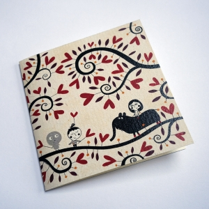 Card Lovers in the hearttree
