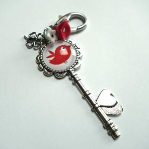 Keychain The red bird