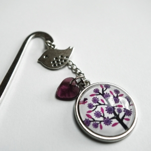 Bookmark Violet tree
