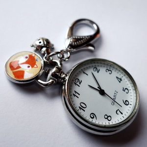 Keychain watch Tiny fox