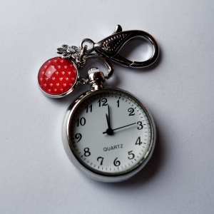 Keychain watch Vermilion