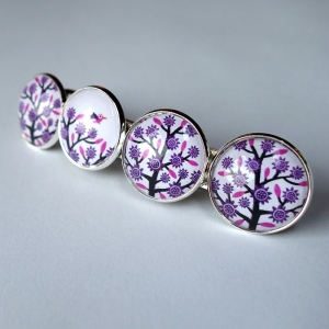 Barrette Purple tree
