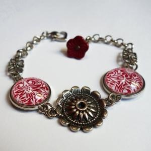 Bracelet Fleurs pourpres