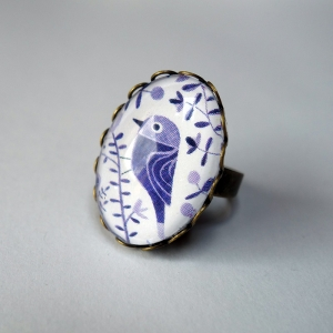Ring Purple birds