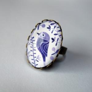 Ring Purple birds