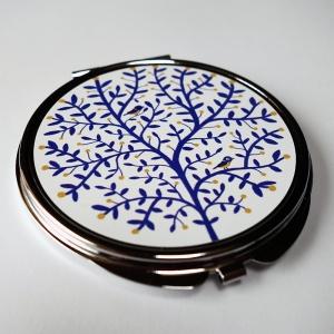 Miroir de poche Arbre aux mésanges