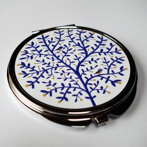 Pocket mirror Tits tree
