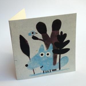 Card Tiny wolf