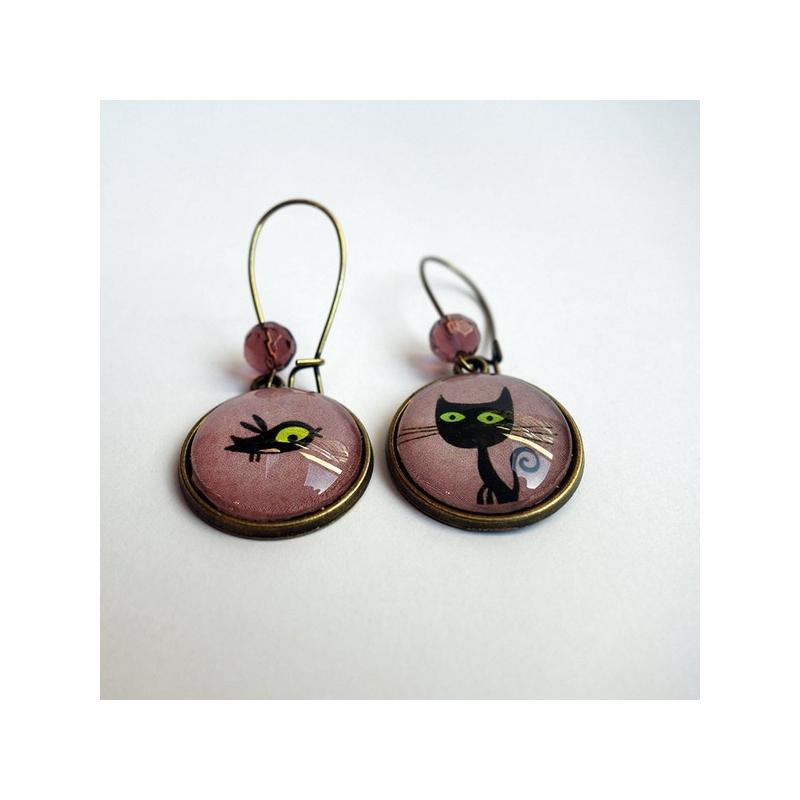 Boucles d'oreilles Clotaire