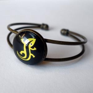 Cuff bracelet Salamander