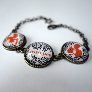 Customizable bracelet The squirrel