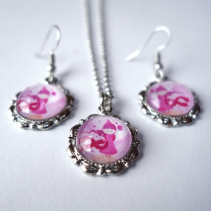Jewelry set Pink princess