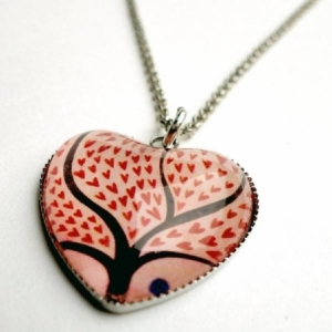 Collier coeur Verger des coeurs