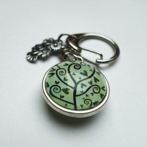 Reversible keychain Cyr and the spirals tree