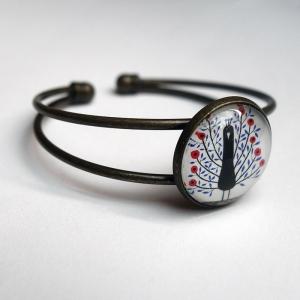 Bracelet Paon des fleurs