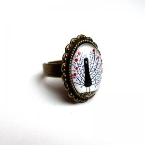Ring Flowerish peacock