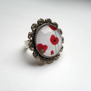 Round ring Poppies