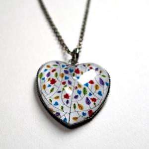 Collier coeur Les couleurs