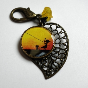 Jewel for bags Fairy by twilight