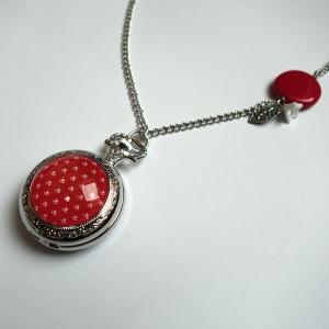 Watch necklace Vermillione