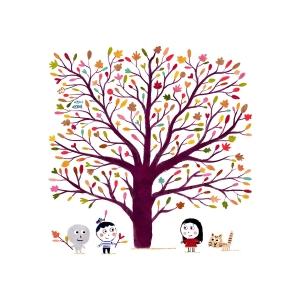 Print Colored tree