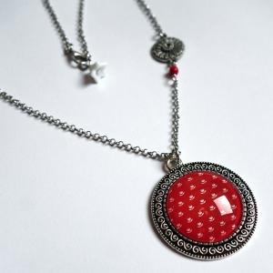 Vintage necklace Vermilion