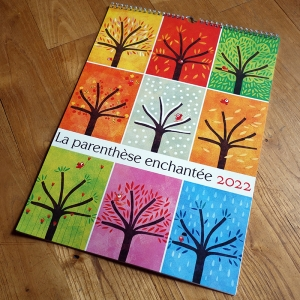 2022 Wall calendar The nine seasons